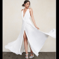 Nwt reformation arianna dress white size l nwt wrap dresses