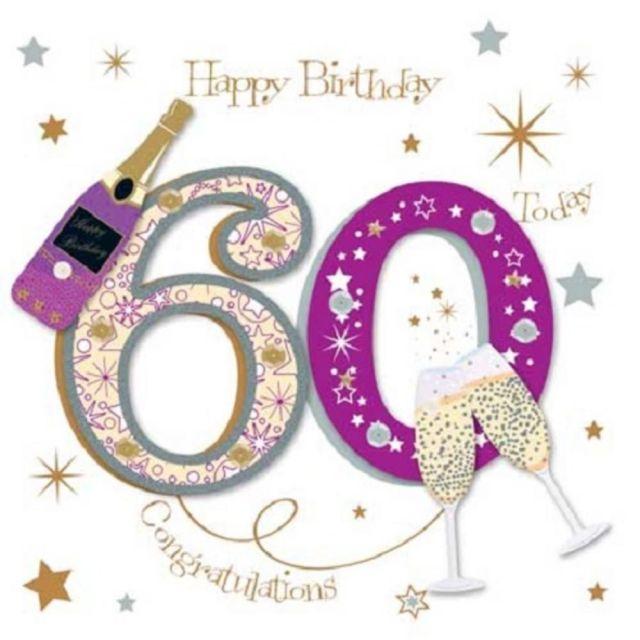 60th birthday sayings for sister