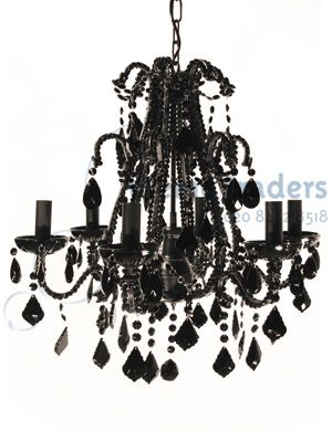 Chandeliers Black Props Prop Hire