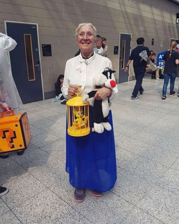 Cosplay isn't just for the young... - Imgur