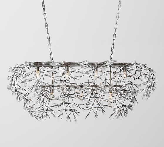 Each Branch Arm And Crystal Head Of This Chandelier Is A Testament To Its Fine Design Diffused Sparkling Light Emanates Through Faceted Crystals For An