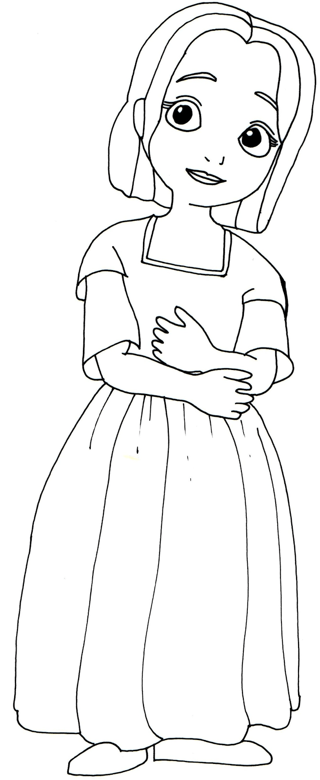 Sofia The First Coloring Pages Jade Sofia Pinterest Jade