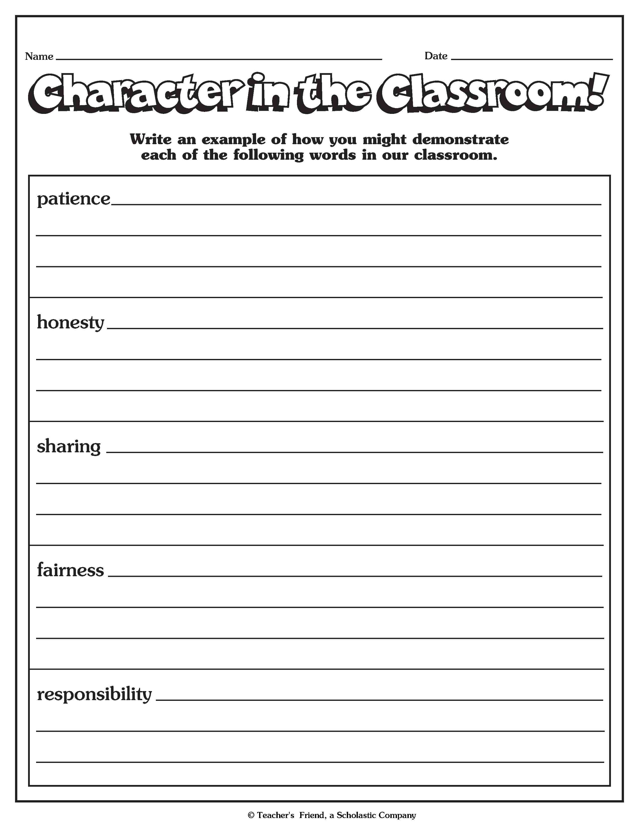 100 Read Alouds For Character Building Free Printable