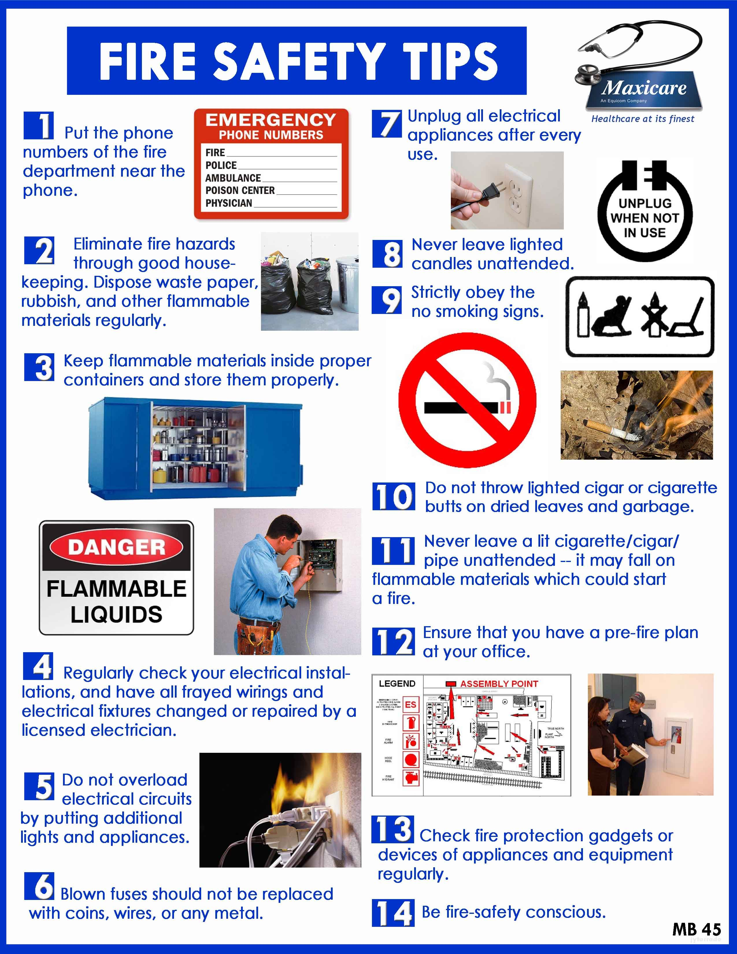 86 Hours Of Research Led To This Infographic On Fire Safety For Kids