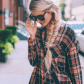 Fall inspired outfit in new york city amber fillerup barefoot
