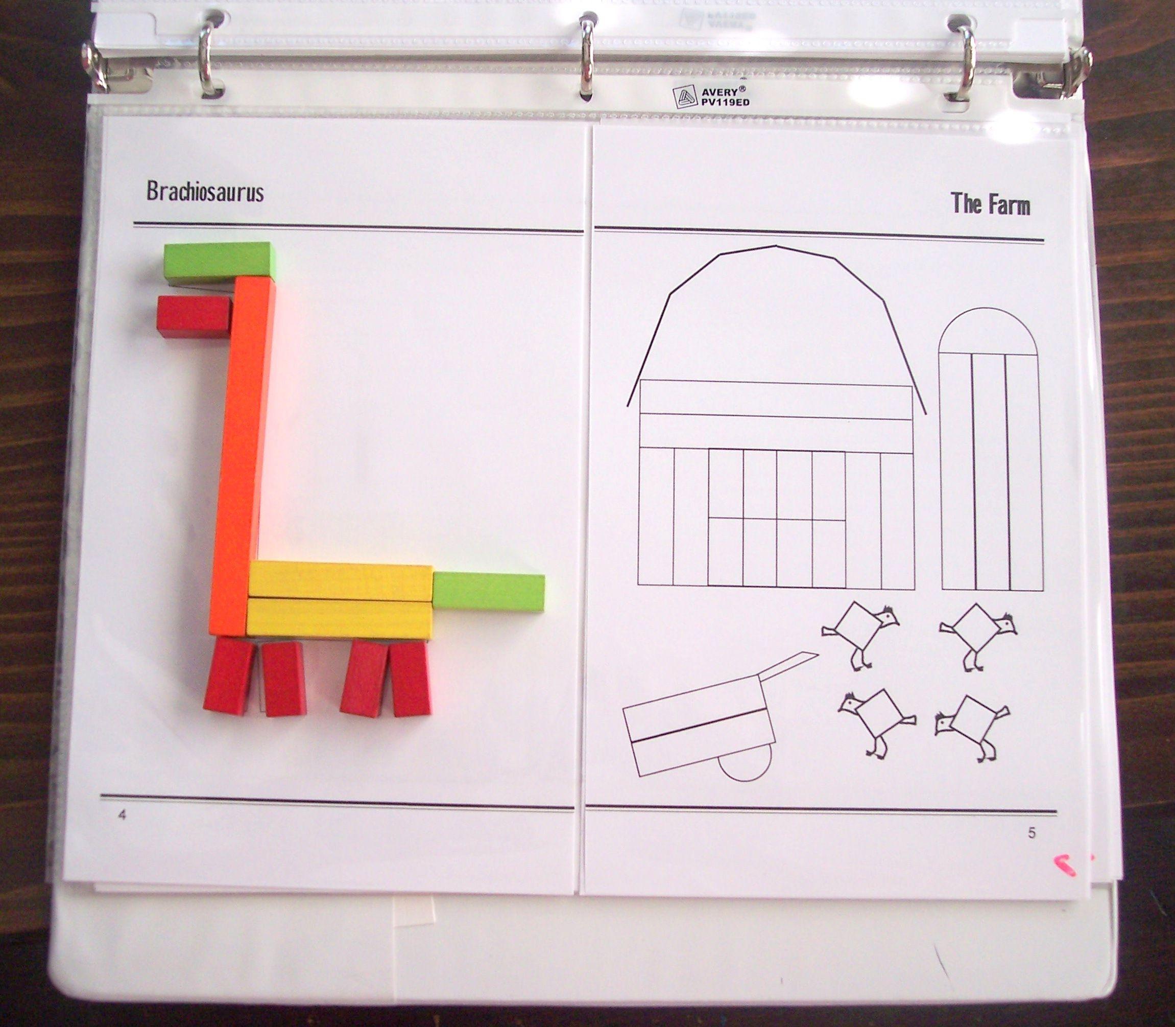 Extra Kindergarten Amp Preschool Miquon Math Activities With