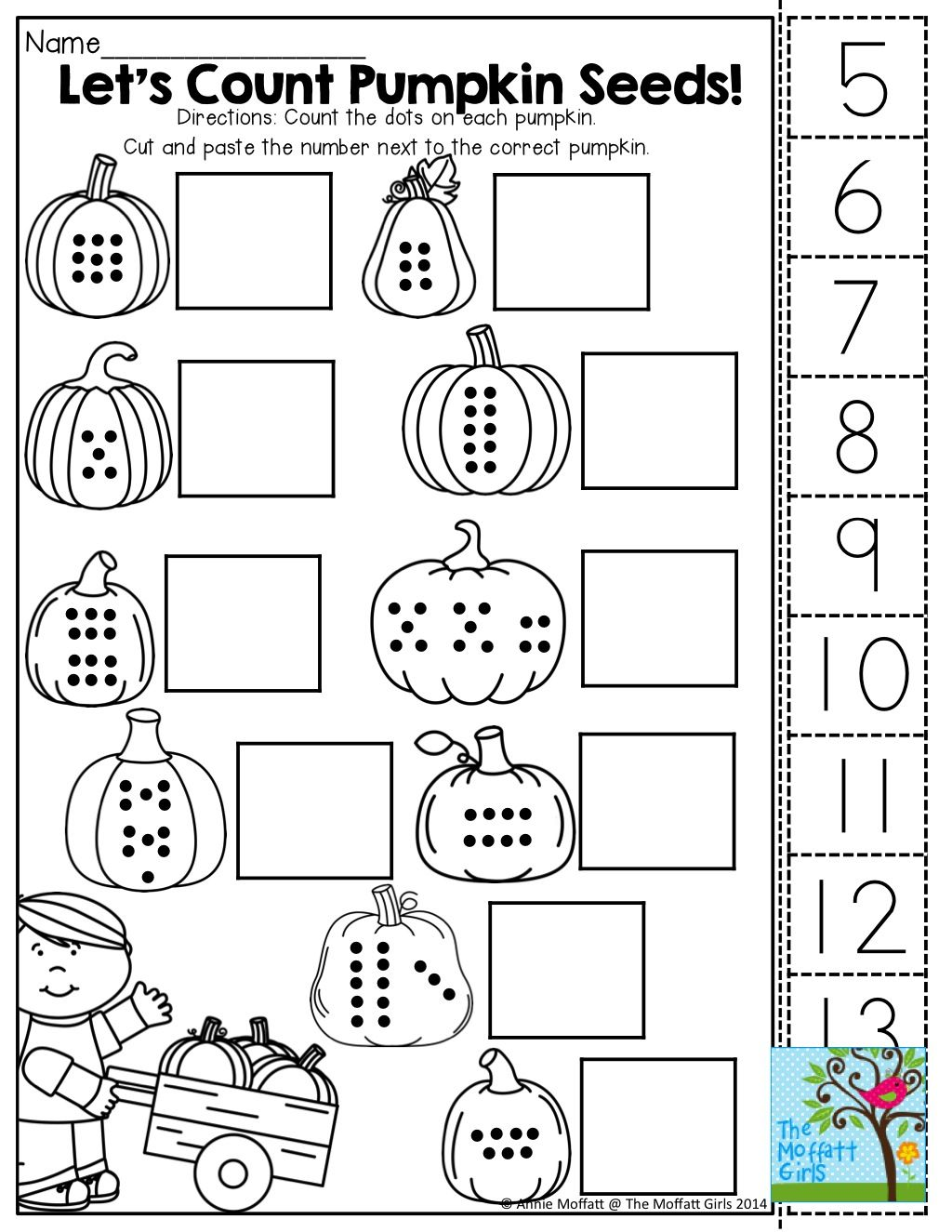 Seeds Worksheet Kindergarten
