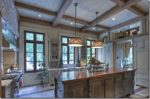 Bleacheddistressed Wood Ceiling With Beam For The Home Pinterest White Wash Ceiling
