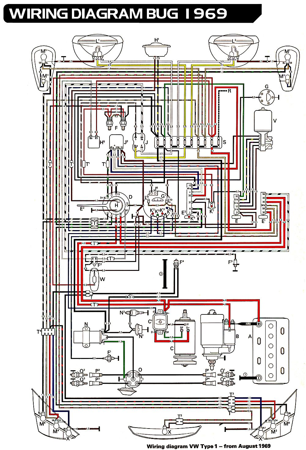 1974 75 super beetle wiring diagram 1972 vw beetle engine
