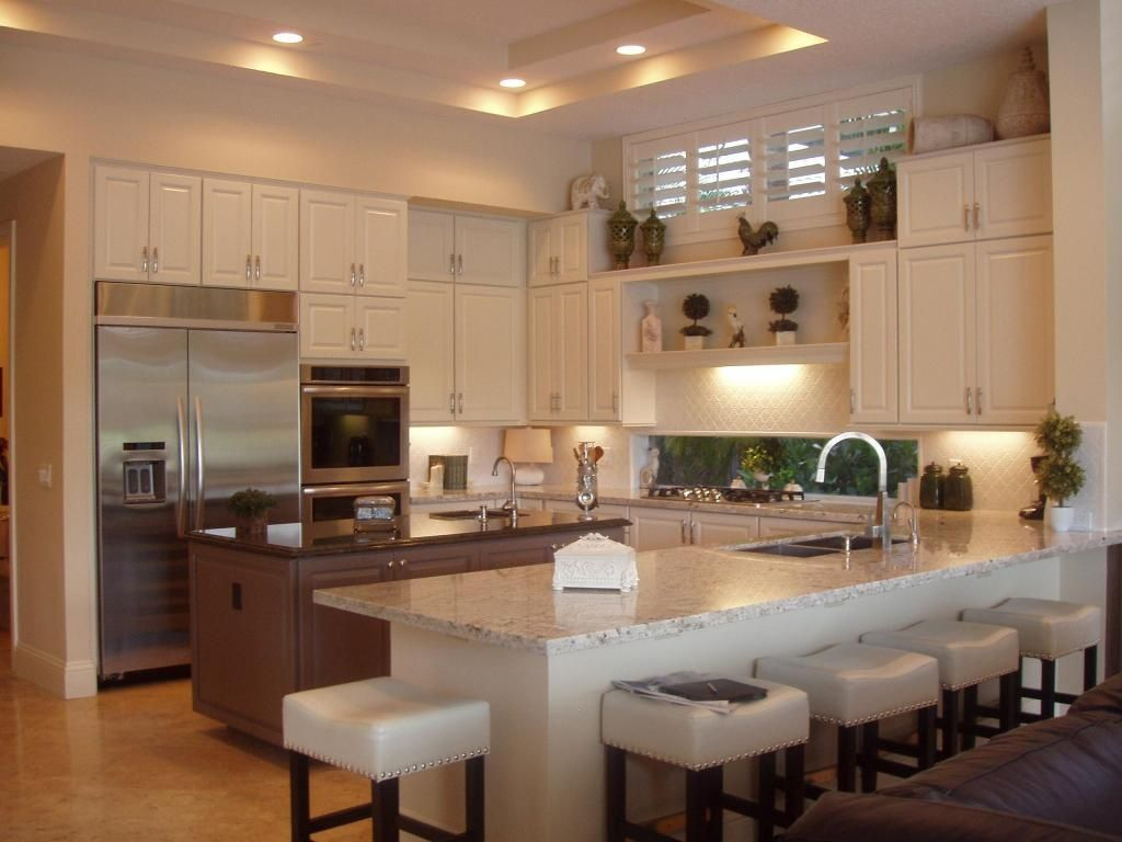 u shaped kitchen with island google search kitchen island ideas pinterest breakfast bars on u kitchen with island id=69237