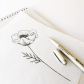 Gooseberrymoon ucpracticing drawing poppies ud dibujos pinterest
