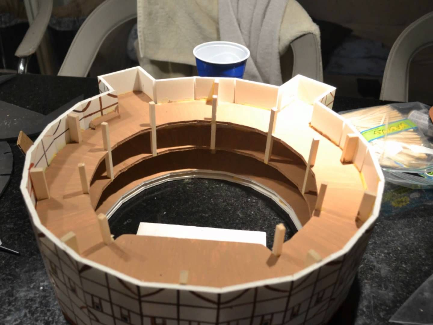 The Globe Theater Model