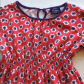 Mini boden floral dress red floral longsleeves dress sizes y