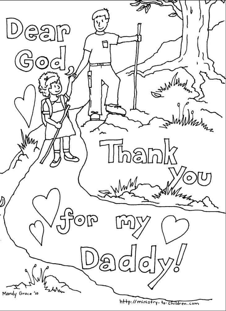 fathers day coloring pages to print Free Large Images Kids