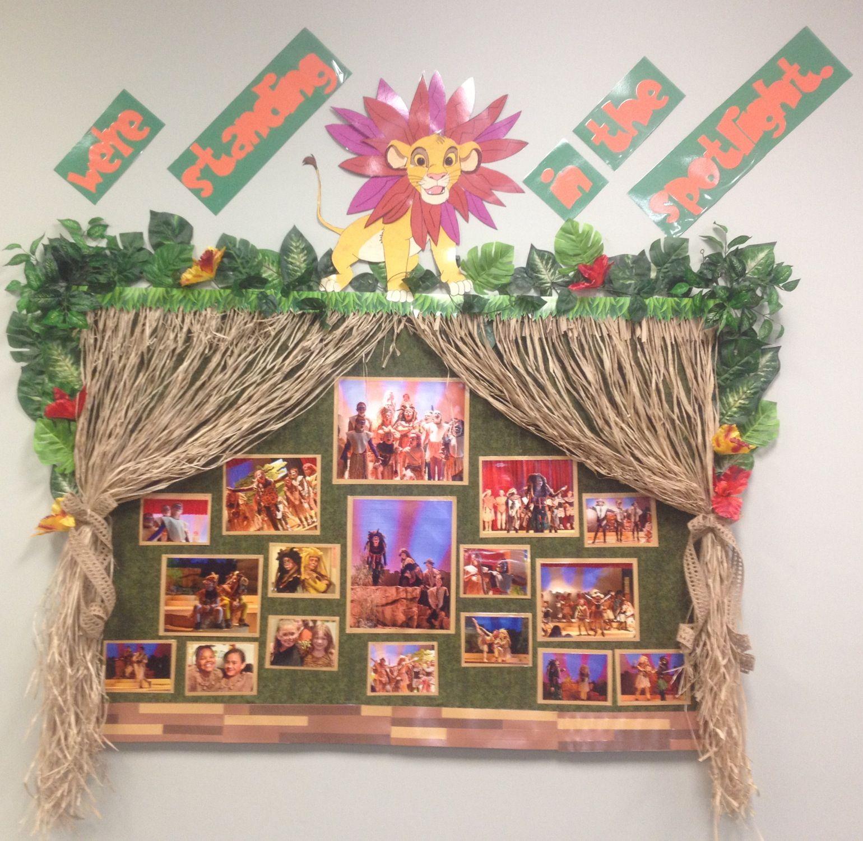 My Jungle Themed Lion King Kids Bulletin Board