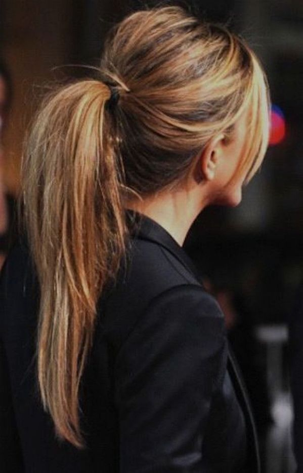 Image result for perky ponytail with pins
