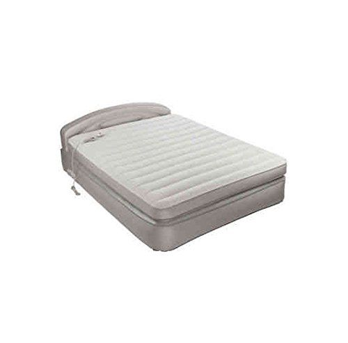 The Aerobed Comfort Anywhere Air Mattress With Headboard Design Is Comfortable Durable And Versatile For