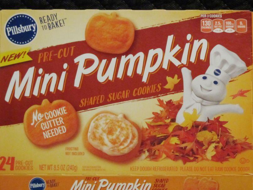 pillsbury mini pumpkin shaped sugar cookies halloween food hunter