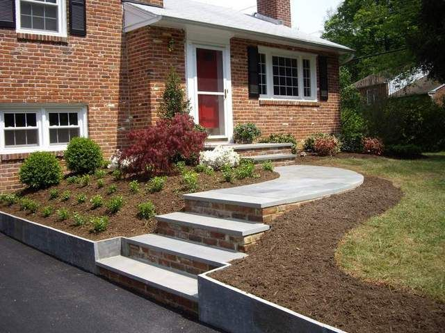 Bi Level Home Landscape Design | The Expert on Split Garden Ideas id=57825