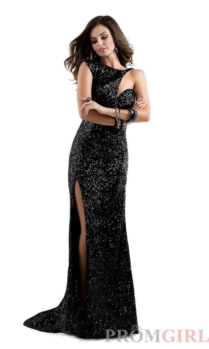 Long Sequin Prom Dress Flirt Unique Sequin Prom Gowns PromGirl