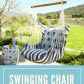 This is a perfect outdoor swing chair i want this in my backyard