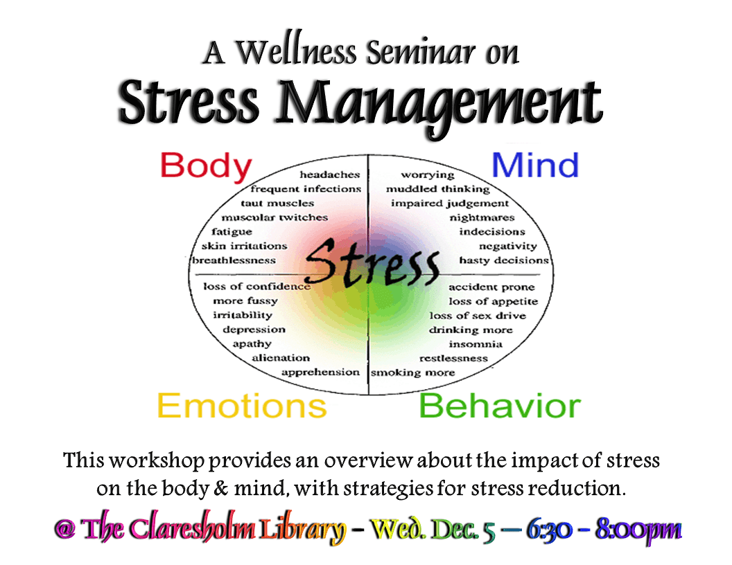 Stress M N Gement W Ksheets Wellness Sem R Stress M N Gement