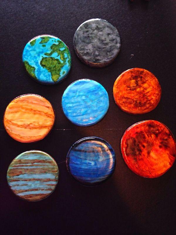 Solar planet cookies Cookie Ideas Pinterest Solar
