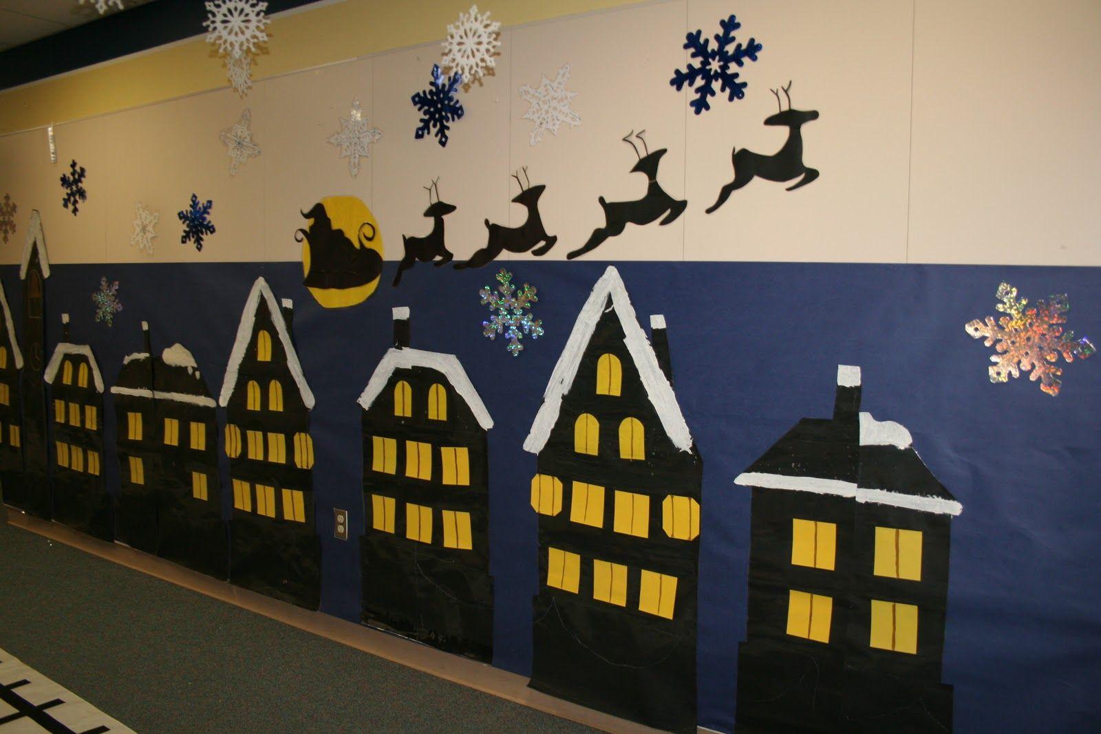 Polar Express Hallway Decorations