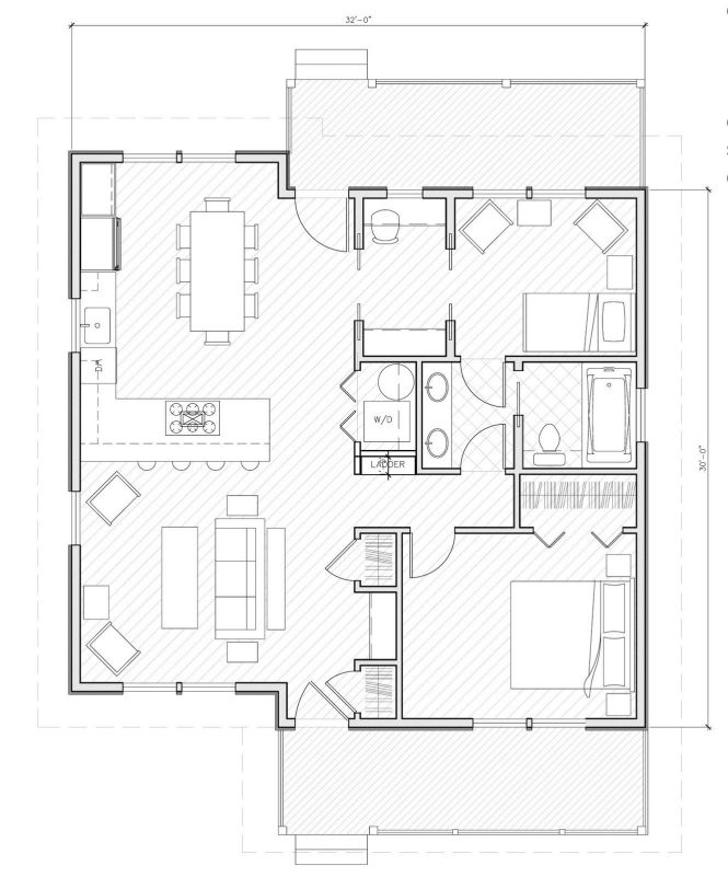 small house plans under 1000 sq ft design pinterest