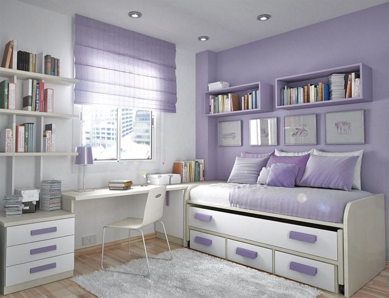 White Covered Bedding Sheet Brown Small Teenage Girl ... on Mirrors For Teenage Bedroom  id=96912