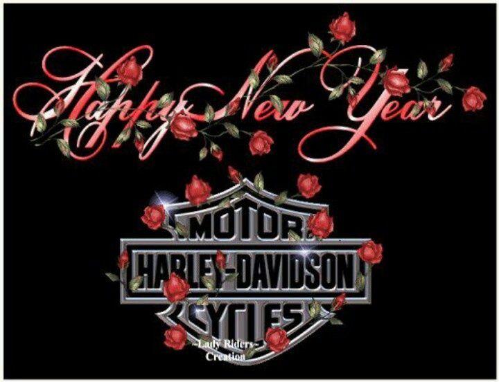 harley davidson happy new year