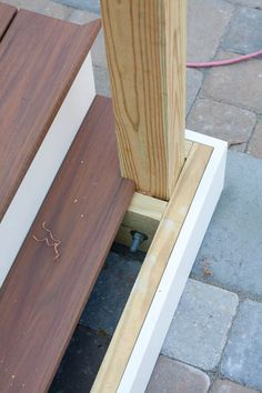 Newel Post Installation On A Porch Or Deck Bailey