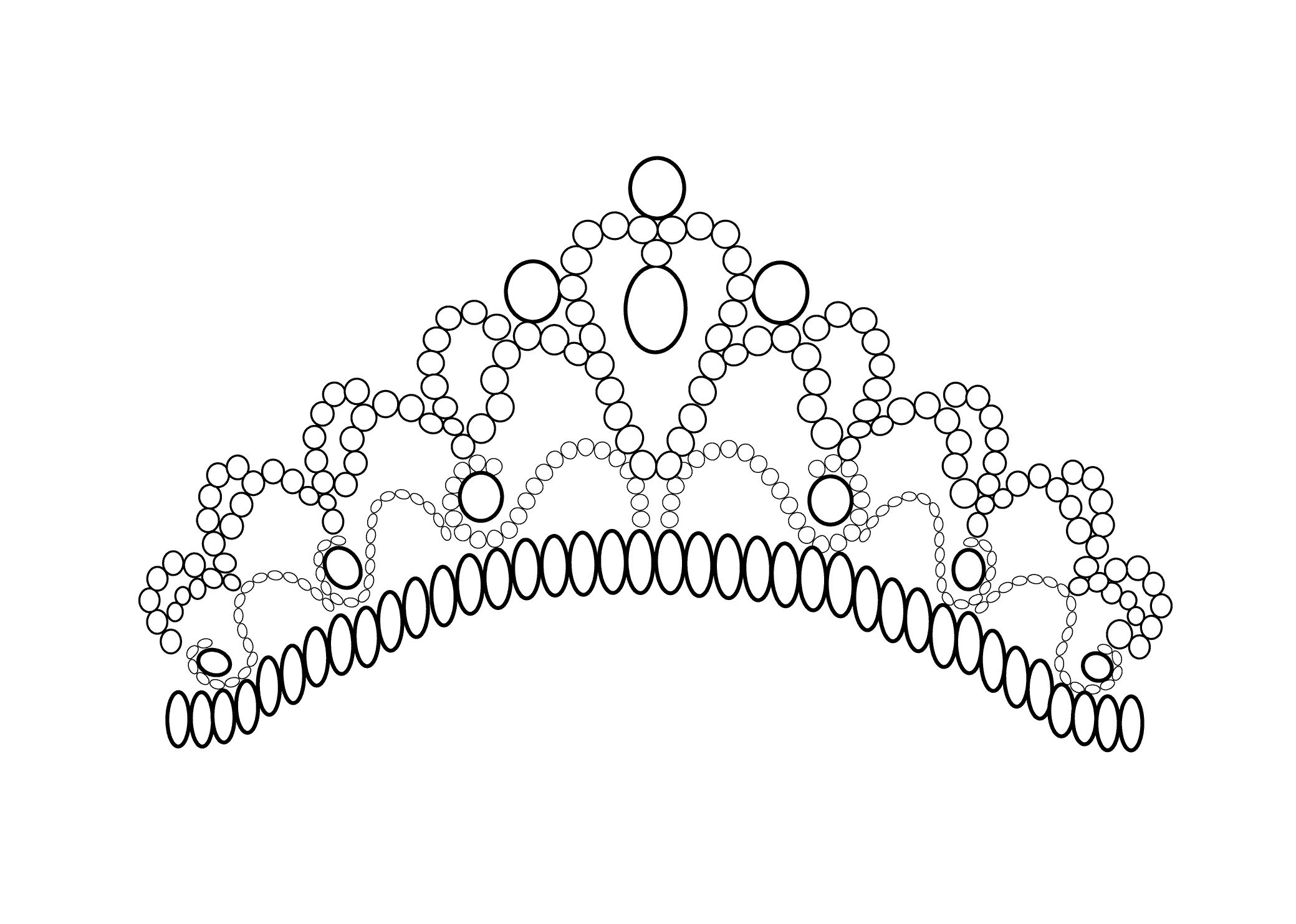 Princess Crown Coloring Pages Coloring Pages Pinterest
