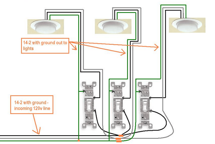 Picture Of How To Wire A Light Switch