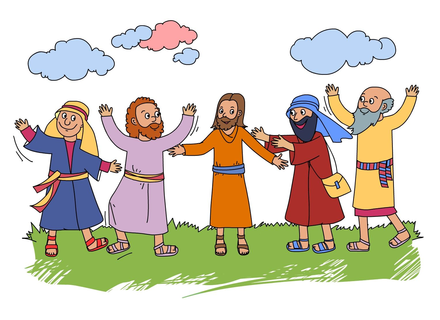 This Bible Story With Activities Is Jesus Returns
