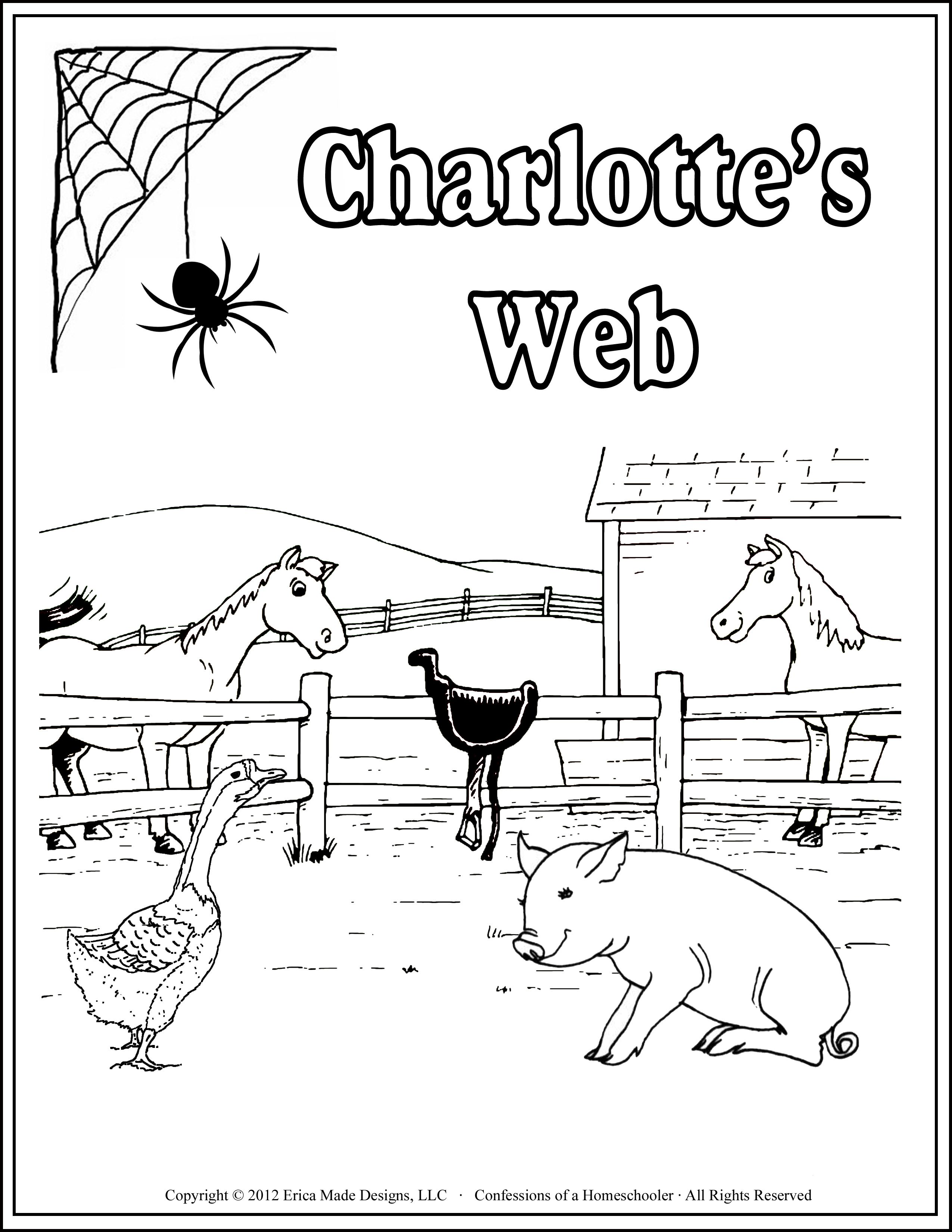 Charlotte S Web Unit Study Literature Digital