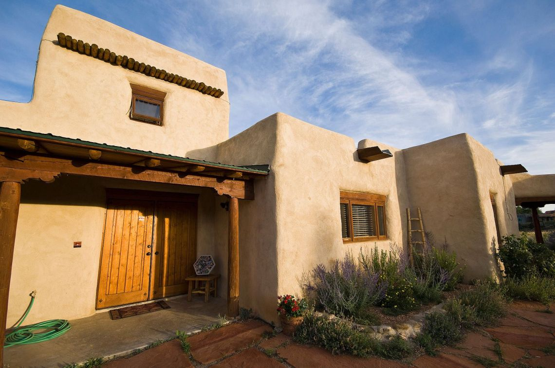 Image result for Pueblo Revival house