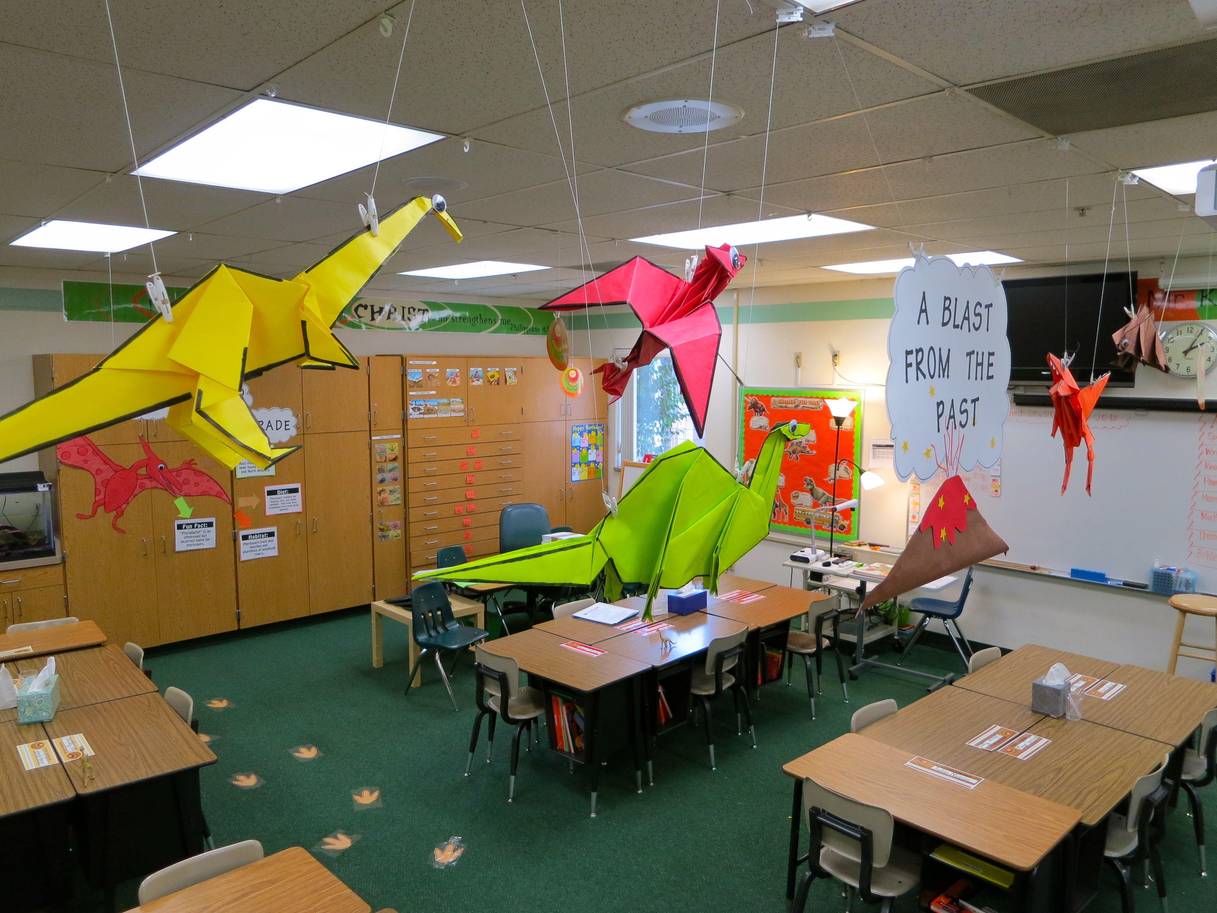 Dinosaur Themed Classroom Ideas
