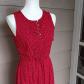 Vintage tommy hilfiger red polka dot dress red polka dot dress