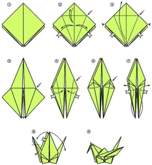 How To Make a Paper Crane: Origami Step by Step-Easy - YouTube   631x580