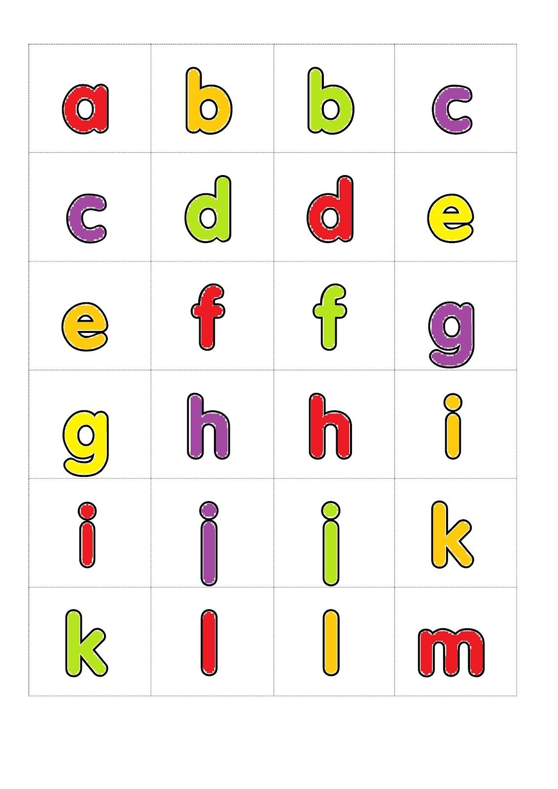 2 3 Printable Alphabet Letters Printable Letters 3