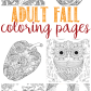 Fall coloring pages for adults pinterest coloring fall coloring