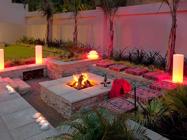 small gardens fire pit - Google Search | Sauna | Pinterest ... on Modern Boma Ideas id=76999