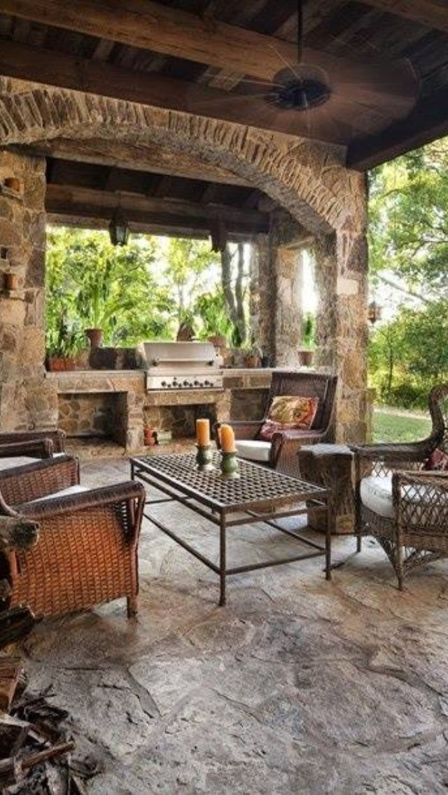 outdoor kitchen designs with roofs via lalanya lani williams outdoor wonders pinterest on outdoor kitchen plans layout id=35849