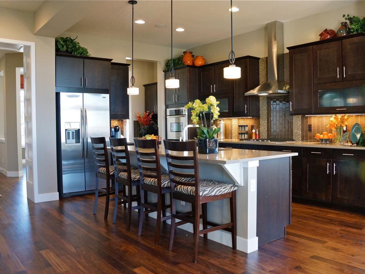 beautiful pictures of kitchen islands hgtv s favorite design ideas breakfast bars on kitchen ideas with island id=94602