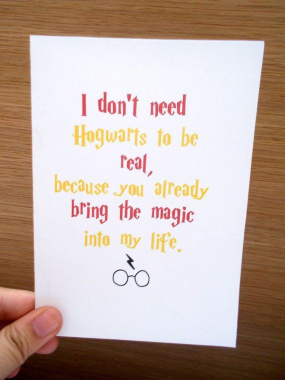 Harry Potter Greeting Card Etsy Listing At Httpswww