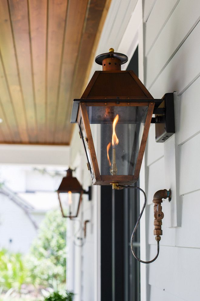 Gas Lantern Gas Lantern Front Porch Gas Lantern