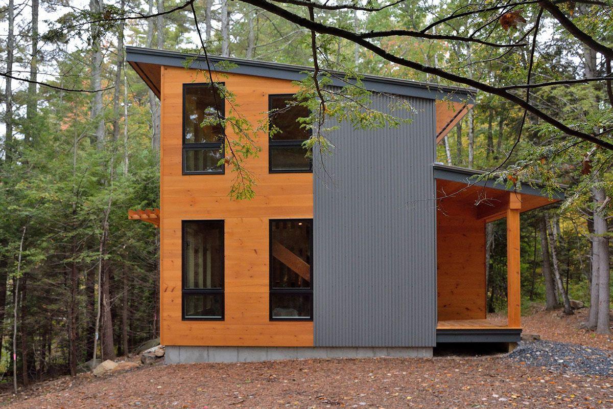 modern house metal siding on Modern House Siding Ideas  id=21509