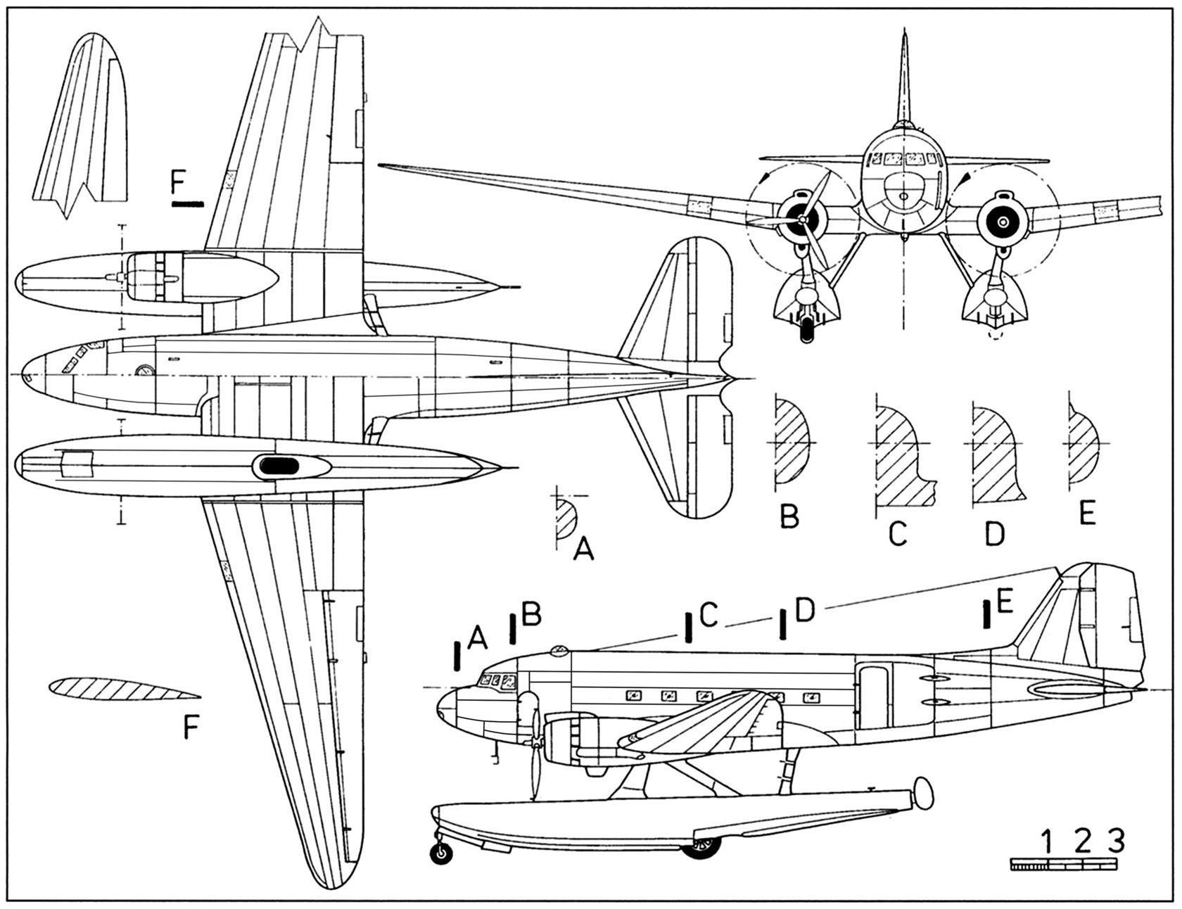 Douglas Xc 47c Skytrain