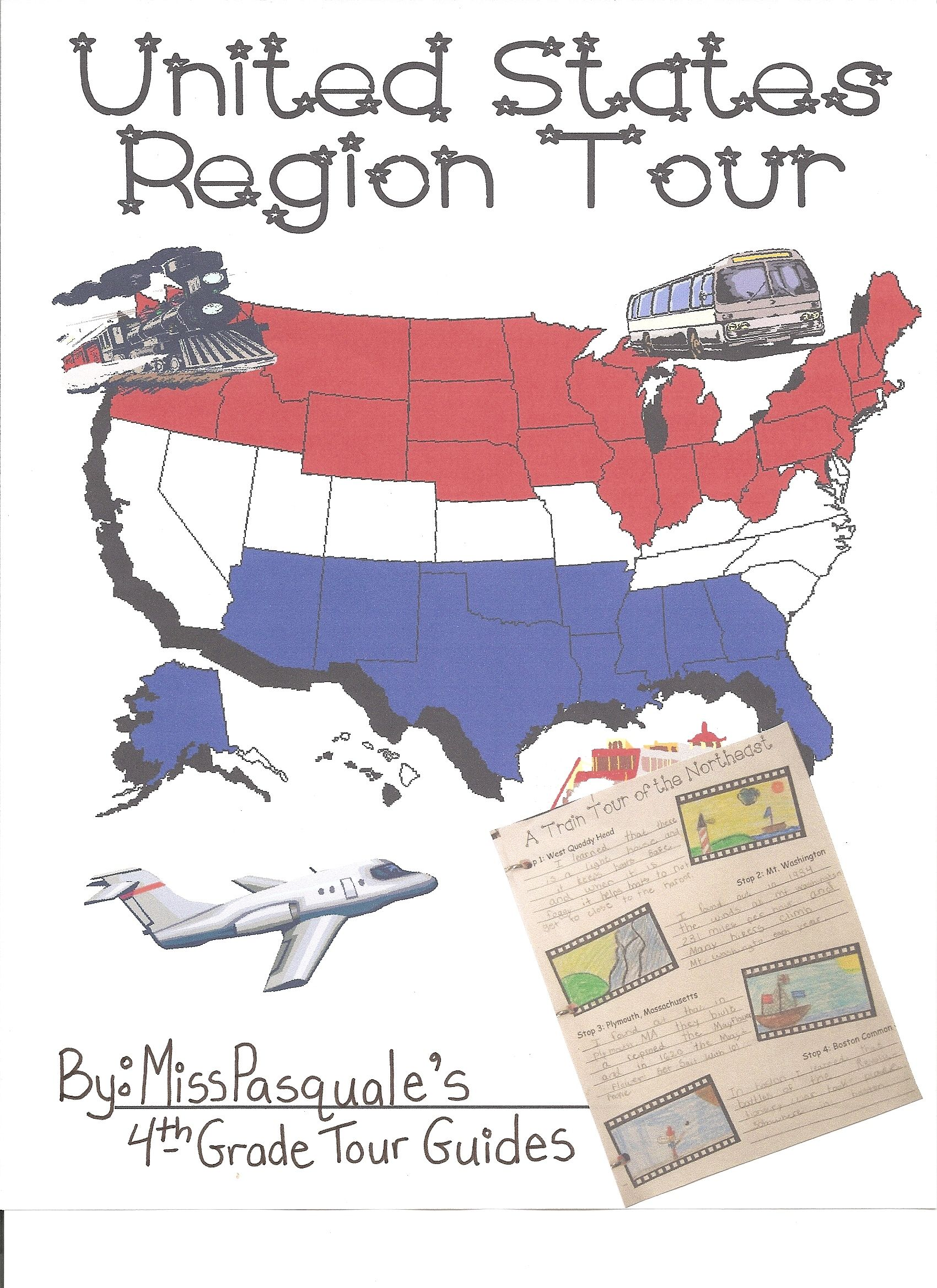 Webquest Tour The Regions Of The United States Created With Zunal Webquest Maker